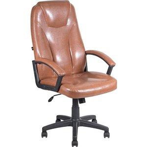Фотография товара кресло Алвест AV 115 PL (681H) MK экокожа 220 коньяк (648002)