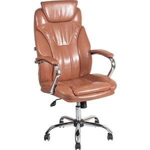 Фотография товара кресло Алвест AV 117 СН (04) СХ экокожа 220 коньяк (648006)