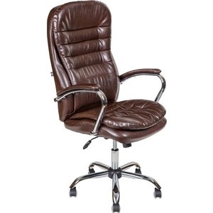 Кресло Алвест AV 118 СН СХ (04) эко кожа 221 шоколад компьютерное кресло алвест av 128 ch черное