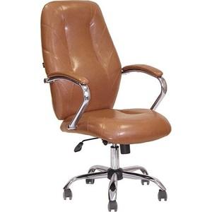 Кресло Алвест AV 119 СН (04) СХ эко кожа 220 коньяк кресло алвест av 123 ch 04 сх экокожа 220 коньяк