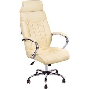 Кресло Алвест AV 130 CH (04) СХ экокожа 202 слоновая кость компьютерное кресло алвест av 128 ch черное