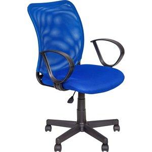 Кресло Алвест AV 219 PL (Р) TW сетка/сетка односл 452/471 синяя/синяя мужская одежда aston случайные случайные сшитые мужские рубашки с длинными рукавами синяя сетка 170 m a14116303