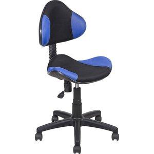 Кресло Алвест AV 215 PL TW сетка 452/455 синяя/черн