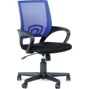 Кресло Алвест AV 214 PL (696) МК TW сетка 455 черная/сетка 471 синяя сетка fit 38135