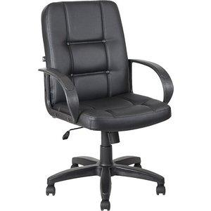 Кресло Алвест AV 211 PL (727) МК экокожа 223 черная