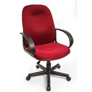 Кресло Алвест AV 210 PL (727) МК ткань 408 бордовая