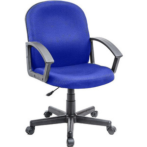 Кресло Алвест AV 203 PL (681) ткань 412 синяя av 121 pl 681 н мк