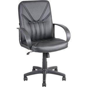 Кресло Алвест AV 201 PL (727) МКэко кожа 223 черная