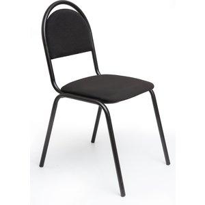 Кресло Алвест Стул стандарт, тк. 418 черная, к-с черный