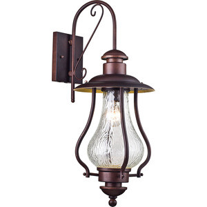 Уличный настенный светильник Maytoni S104-60-01-R