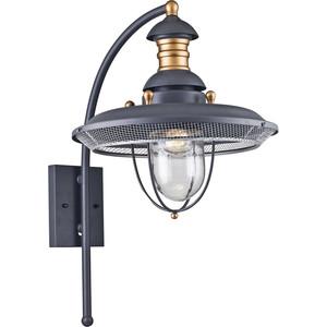 Уличный настенный светильник Maytoni S105-57-01-G светильник на штанге maytoni magnificent mile s105 57 01 g