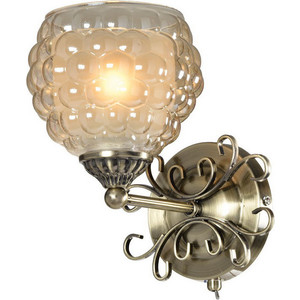 Бра IDLamp 285/1A-Oldbronze настенное бра id lamp fort collins 912 1a oldbronze