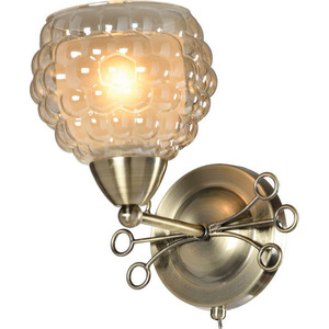 Бра IDLamp 286/1A-Oldbronze настенное бра id lamp fort collins 912 1a oldbronze