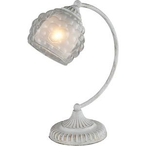 Настольная лампа IDLamp 285/1T-Whitepatina настольная лампа idlamp bella 285 1t whitepatina