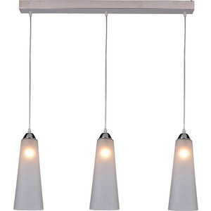 Подвесной светильник IDLamp 236/3-Chrome modern products solid brass chrome finished glass shelf cb012k 3