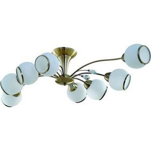 Потолочная люстра IDLamp 830/8PF-Oldbronze idlamp idlamp 830 8pf whitechrome