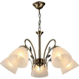 Подвесная люстра IDLamp 272/5-Oldbronze подвесная люстра id lamp henderson 256 6 oldbronze