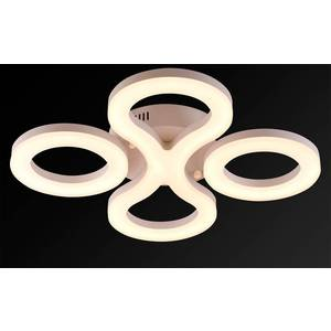 Потолочный светодиодный светильник IDLamp 396/3PF-LEDWhite slocum 396