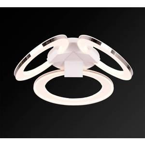 Потолочный светодиодный светильник IDLamp 400/3PF-LEDWhitechrome потолочный светодиодный светильник idlamp 397 2pf ledwhitechrome