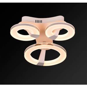 Потолочный светодиодный светильник IDLamp 397/3PF-LEDWhitechrome потолочный светодиодный светильник idlamp 397 2pf ledwhitechrome