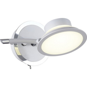 Светодиодный спот IDLamp 104/1A-LEDWhite бра idlamp 877 1a darkchrome