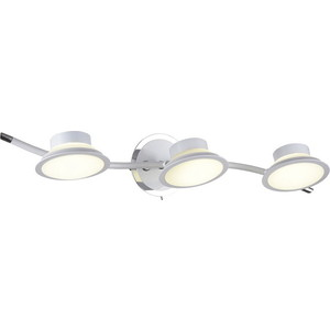 Светодиодный спот IDLamp 104/3A-LEDWhite светодиодный спот idlamp 106 3a ledwhite