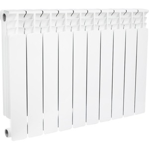 все цены на Радиатор отопления STOUT Space 500 биметаллический 10 секций (SRB-0310-050010) онлайн