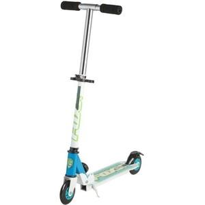 Самокат городской FOXX Smiles сталь PVC колеса 100мм, ABEC-7, голубой (100S.FOXX.BL7)