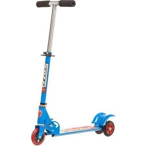 Самокат городской FOXX Smooth Motion сталь PVC колеса 100мм, ABEC-7, синий (100SM.FOXX.BL7)