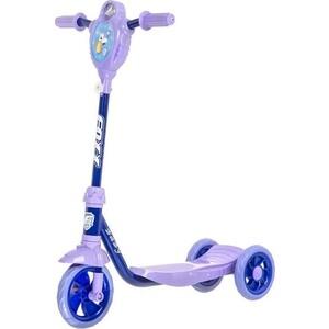 FOXX Самокат городской Baby с пластиковой платформой и EVA колеса ми 115мм, ультрамарин (115BABY.BL5)
