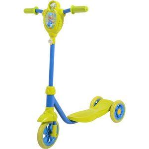 FOXX Самокат городской Baby с пластиковой платформой и EVA колеса ми 115мм, лимонно-синий (115BABY.LBL7)
