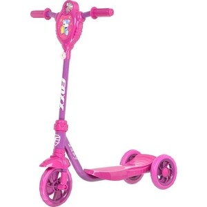FOXX Самокат городской Baby с пластиковой платформой и EVA колеса ми 115мм, фиолетовый (115BABY.PN5)