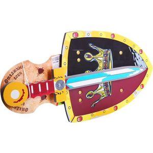 Bondibon Набор оружия мягкого, щит и меч, Отважный воин, 25х12х15, 5 см. (ВВ1131)