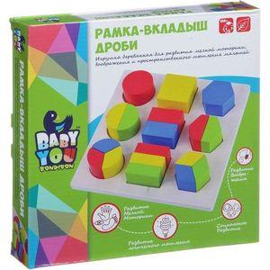 Bondibon Игрушка развивающая Дроби (ВВ1499)