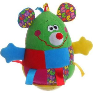 Bondibon Неваляшка Мышь 19 см. (ВВ1283) мягкие игрушки trudi лайка маркус 34 см