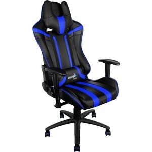Кресло для геймеров Aerocool AC120-BB черно-синее
