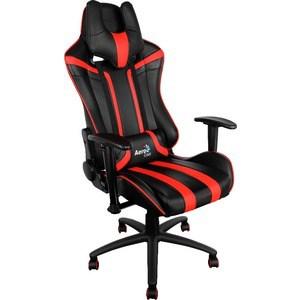 Кресло для геймеров Aerocool AC120-BR черно-красное