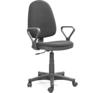 Кресло Recardo Assistant узкие подлокотники черный