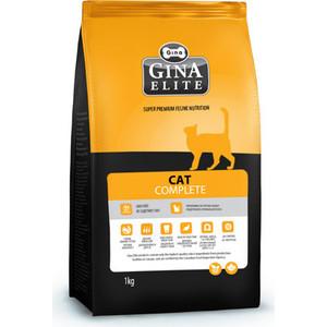Сухой корм Gina Elite CAT Complete с курицей для взрослых кошек 18кг (160012.6) сухой корм gina denmark dog classic с курицей и рисом для взрослых собак до 7 лет 18кг 080115 2