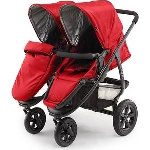 Коляска для двойни 2 в 1 Cozy Dou Red (Красная) коляска cozy cozy коляска для двойни smart dark sand melange