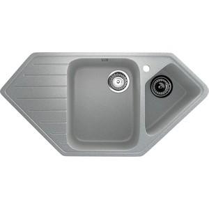 Кухонная мойка Ulgran U-409-310 серый кухонная мойка ulgran u 409 309 темно серый