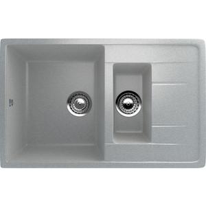 Кухонная мойка Ulgran U-205-310 серый кухонная мойка ulgran u 202 331 белый