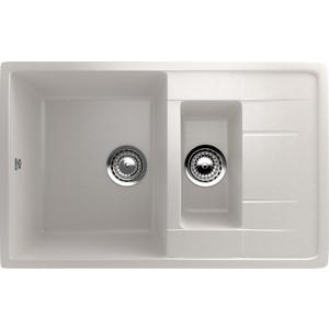 Кухонная мойка Ulgran U-205-331 белый кухонная мойка ulgran u 407 331 белый