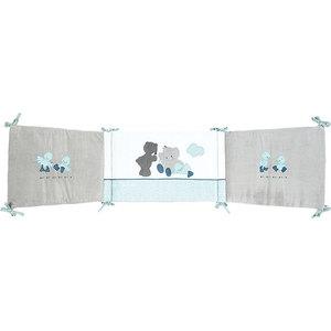 Фотография товара бортик Nattou Jack, Jules & Nestor для кровати универсальный 843430 (651606)
