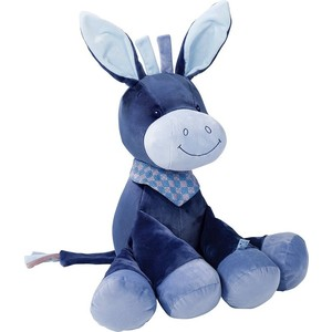 Игрушка мягкая Nattou Soft toy (Наттоу Софт Той) Alex & Bibiou Ослик 75 см 321020 1pc 10 20cm funny plush penis toy doll soft stuffed creative simulation penis pillow cute sexy kawaii toy gift for girlfriend