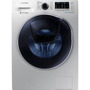 Стиральная машина с сушкой Samsung WD80K5410OS стиральная машина samsung ww90j6410cw
