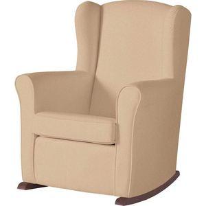 Кресло-качалка Micuna Wing/Nanny chocolate/beige искусственная кожа бескаркасное кресло папа пуф cocoon chocolate