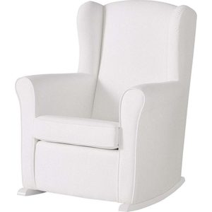Кресло-качалка Micuna Wing/Nanny white/white искусственная кожа