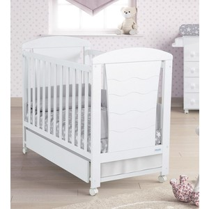 Кровать Micuna Infinity 120*60 white кровать micuna little chick 120 60 white pink