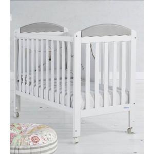 Фотография товара кровать Micuna Judith 120*60 white/grey (651706)